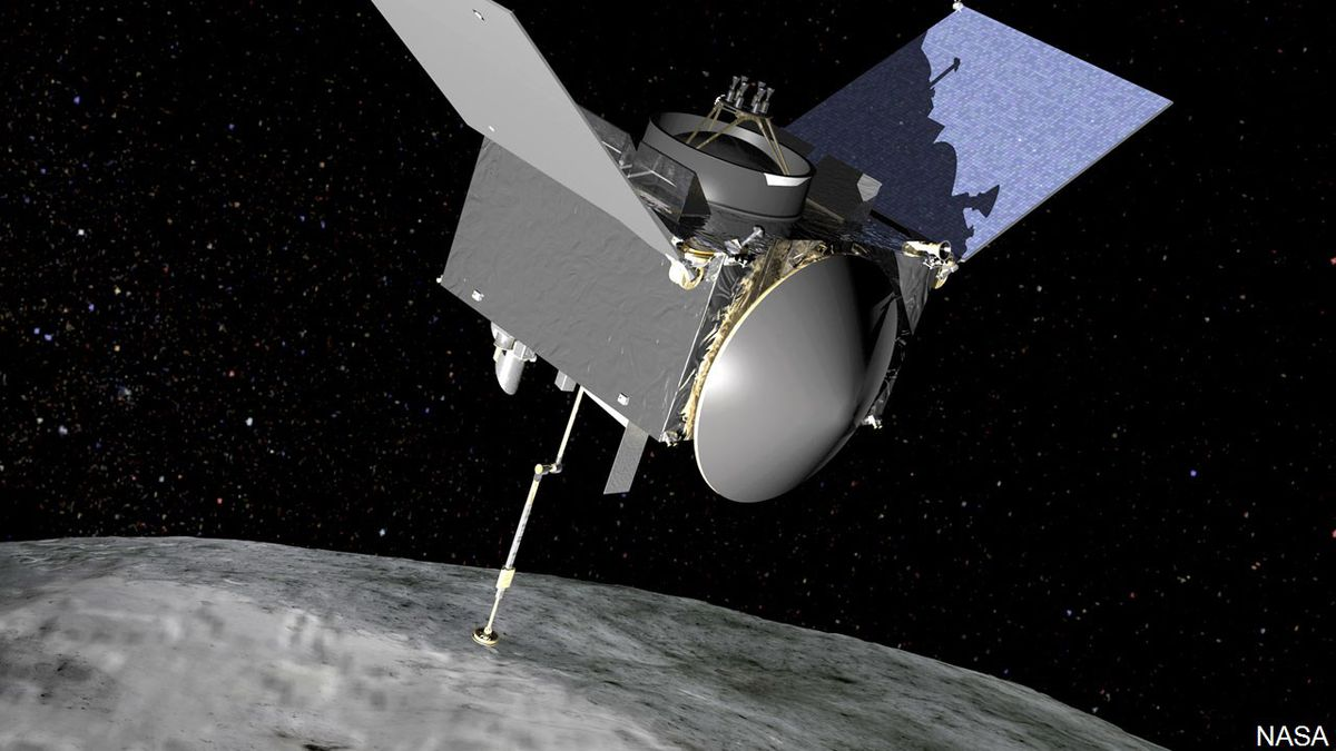 PHOTO: OSIRIS-REx will travel to near-Earth asteroid Bennu on a sample return mission., Photo Date: Aug. 17, 2016