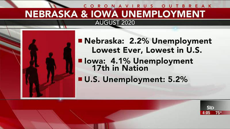 Following the release of this month's unemployment rates update Friday, Nebraska and Iowa...