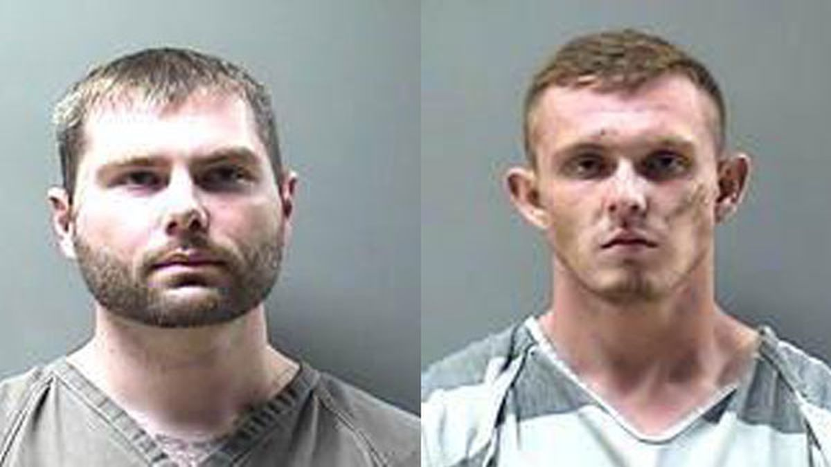 Dalton Cook (right) and Michael Bibby (left) are both charged with several counts of attempted...
