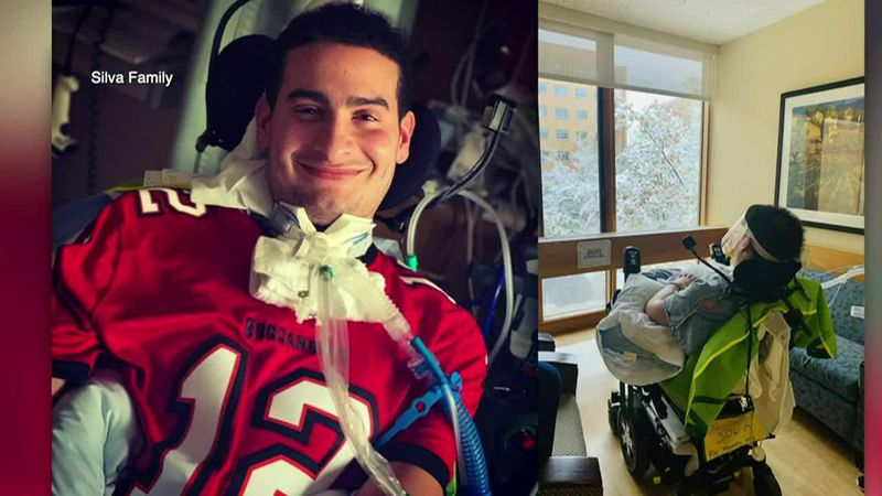 A Florida nurse was paralyzed by a rare infection that doctors think was related to COVID.