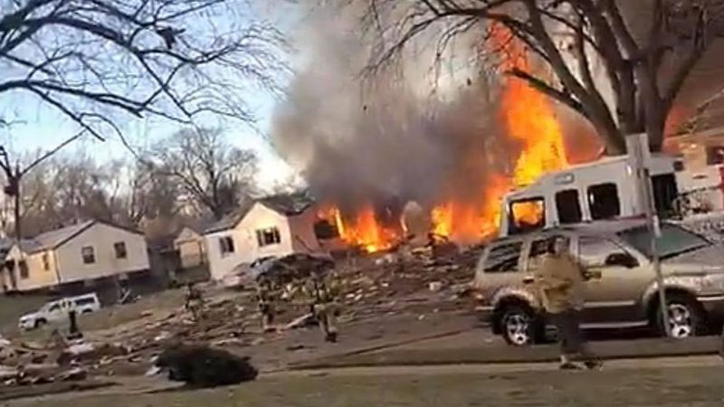 One person was killed and two others were hurt in a house explosion Tuesday morning, Dec. 8,...