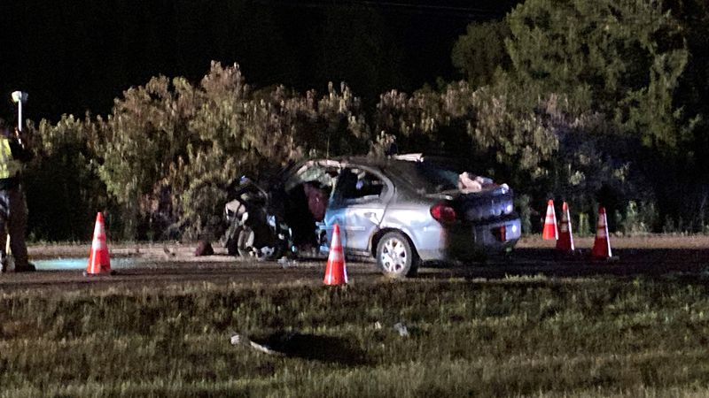 Seven teens were injured in a head-on crash in the Bennington area.