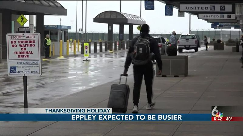 Last year more than 172,000 people traveled through Eppley Airfield around the Thanksgiving...