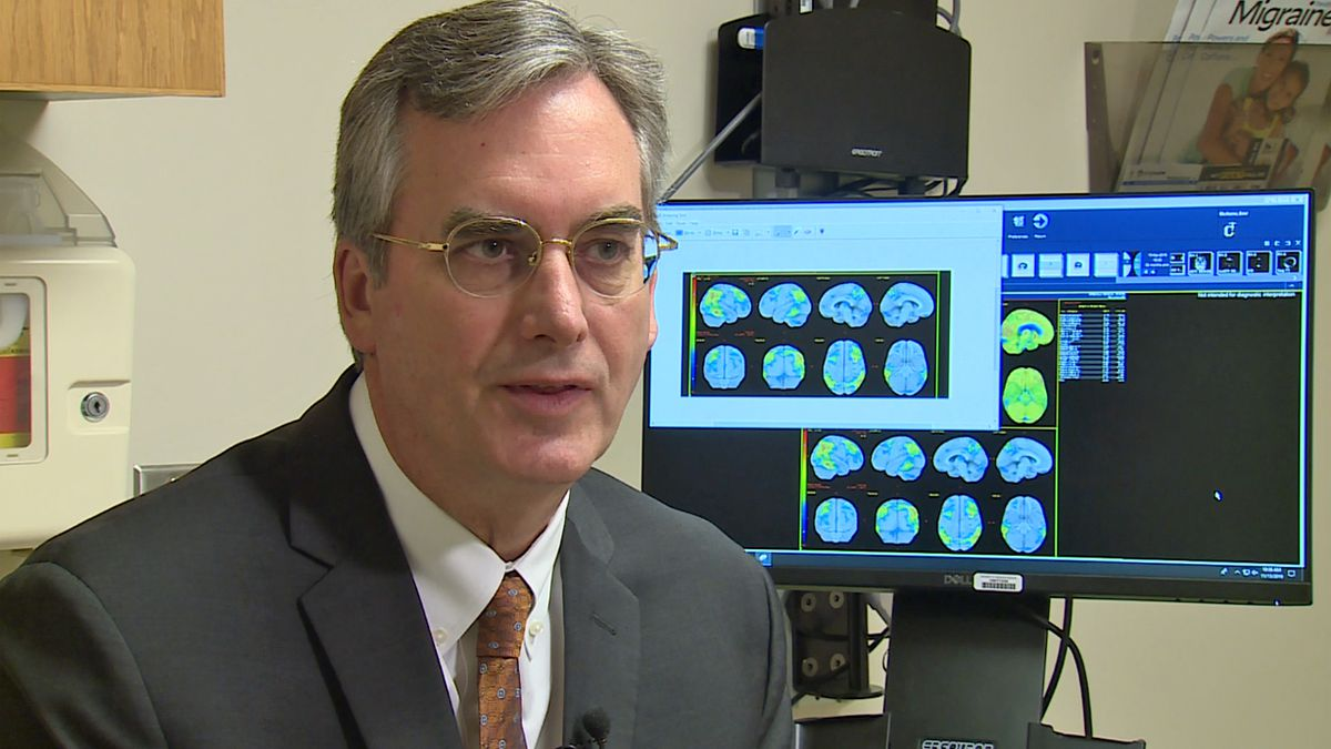 New drug showing promising results in the treatment of Alzheimer's.