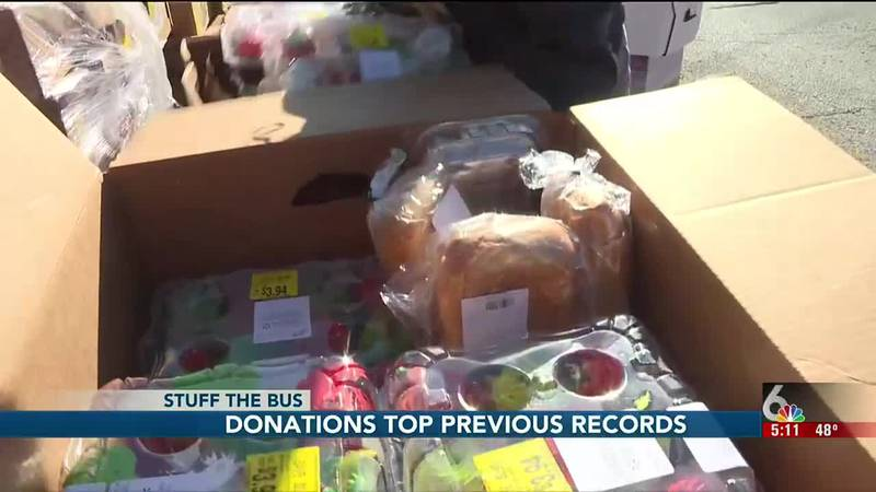 The donations far exceeded our June food drive, when we were happy to have collected about...