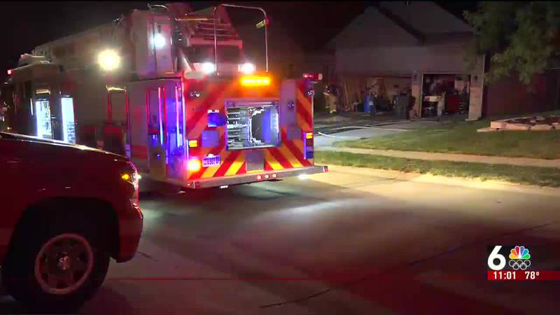 After a 911 call, fire crews were dispatched Wednesday to a home near 174th Avenue and Meredith.