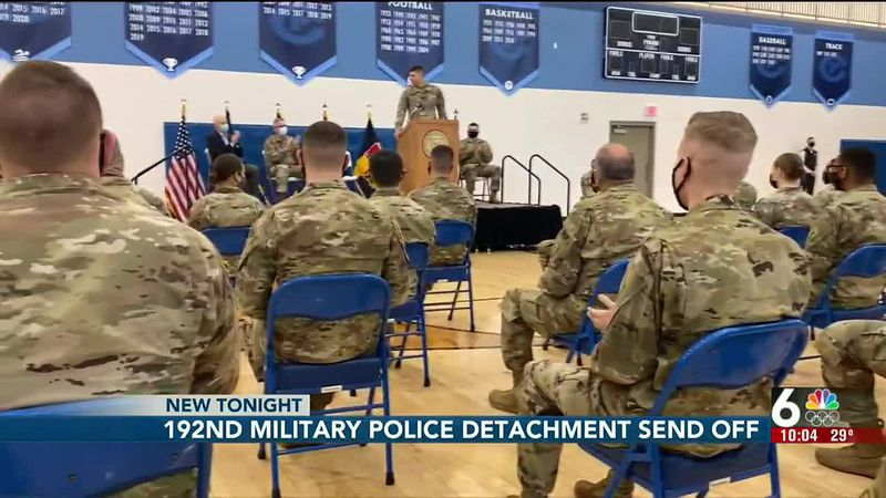 Omaha's 192nd Military Police Detachment is being called to serve.