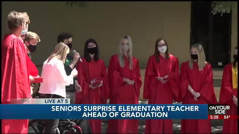 Omaha graduates surprise teacher