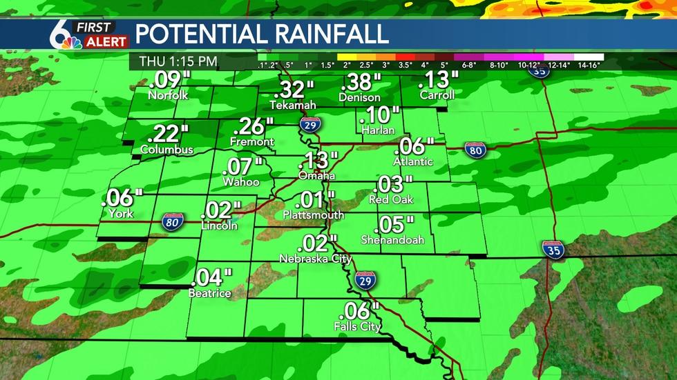 Potential Rainfall