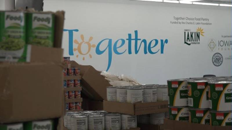 Together Inc and their partners opened a new food pantry that functions like a grocery store.