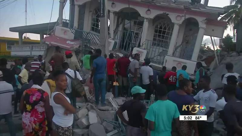 Convoy of Hope brings help to Haiti after 7.2 magnitude earthquake