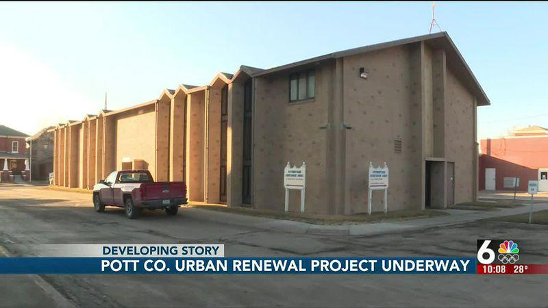 Pottawattamie County urban renewal project underway