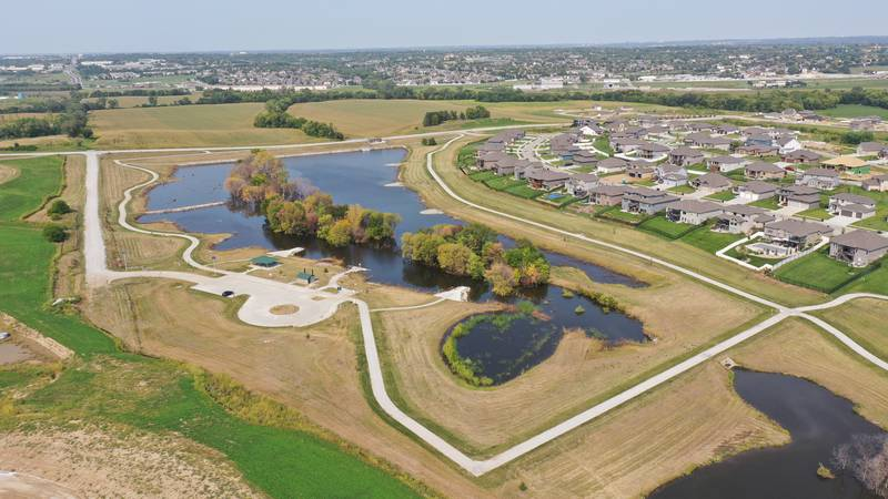 Tuesday was the grand opening for Sarpy County's new Big Elk Lake Recreation and Portal Lake...
