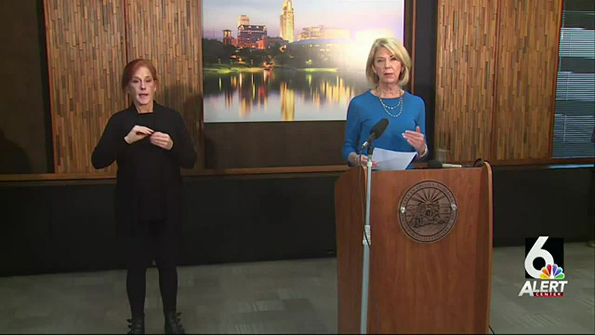 Omaha Mayor Jean Stothert outlined her plans for the city's economic recovery during her news...