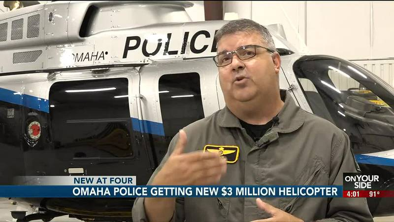 The Omaha Police Department has purchased a brand new helicopter to add to its air unit.