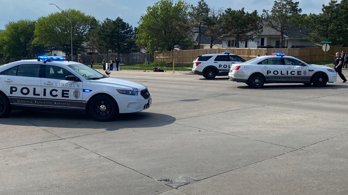 Lincoln Police responded to a two-vehicle crash near 40th Street and Pine Lake Road on Sunday...