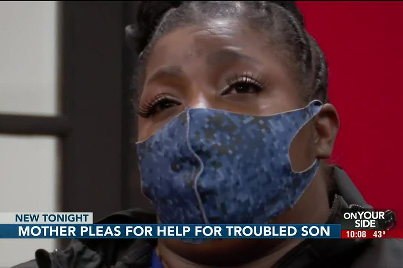 Mothers pleads for help for troubled son - 10PM