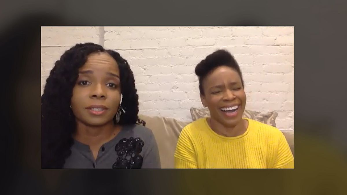Sisters Amber Ruffin and Lacey Lamar talk new book on racism