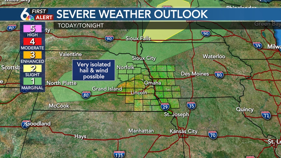 Severe threat Monday