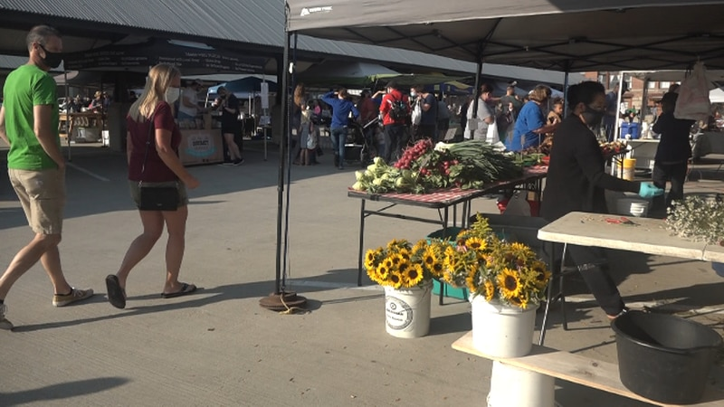 Safety measures are still in place for Omaha Farmers Market 2021 season.