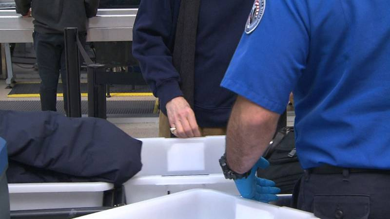 The TSA said this week that 40% of its workers remain unvaccinated against COVID-19.