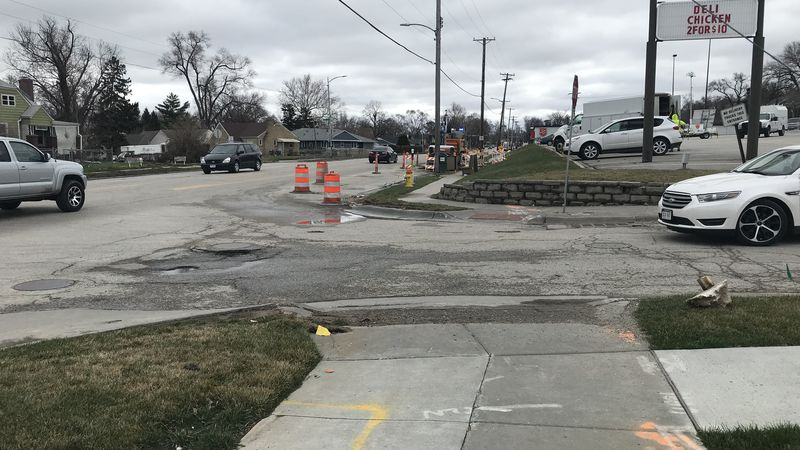 Rainy start to season causing potholes to pop up on roadways.