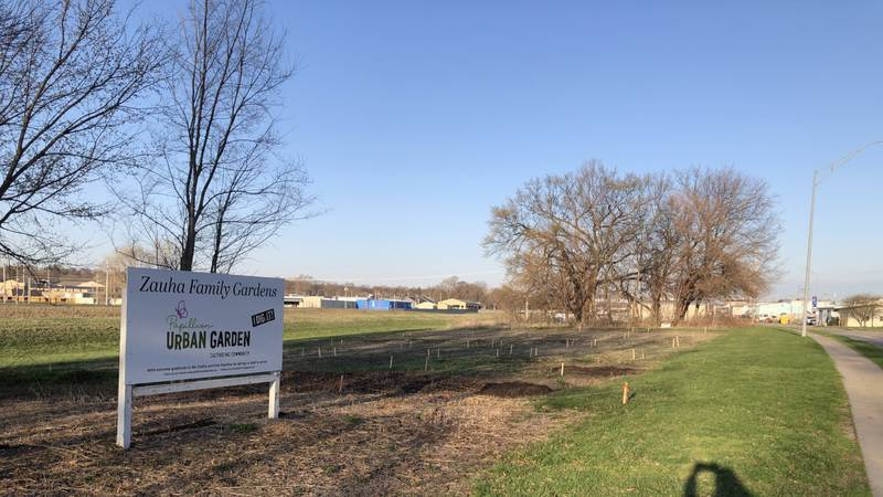 The city of Papillion is readying its first Urban Garden.