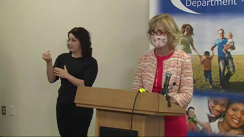 Douglas County Health Director announces that she will not declare a face mask mandate during a...