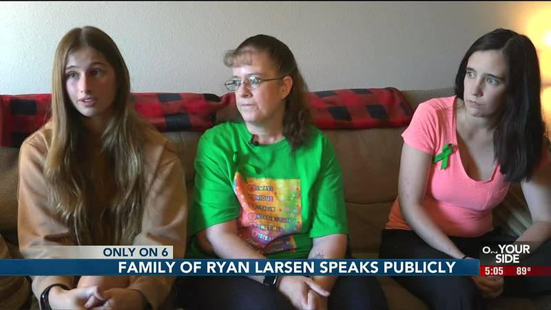 Family of Ryan Larsen speak publicly - 5 pm