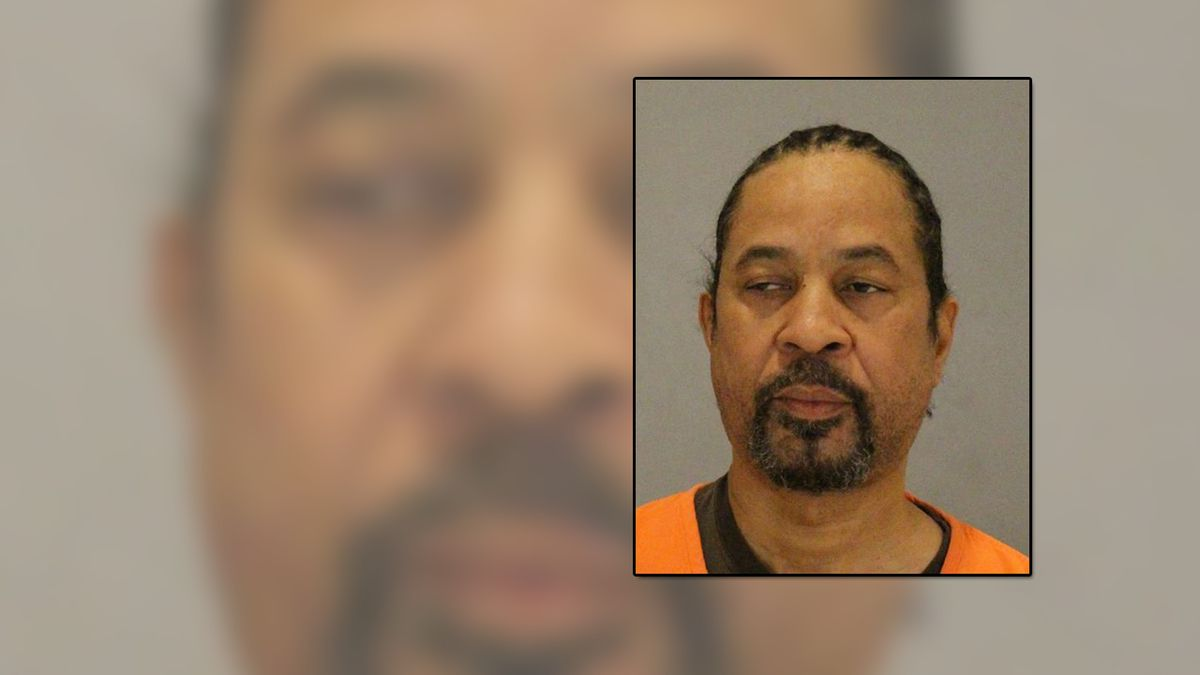 Omaha Police arrested Christopher Martin on Tuesday, Jan. 15, 2020, and booked him for charges of first-degree murder. He's accused of killing Todd Schumacher in December 2000. (Omaha Police / WOWT)