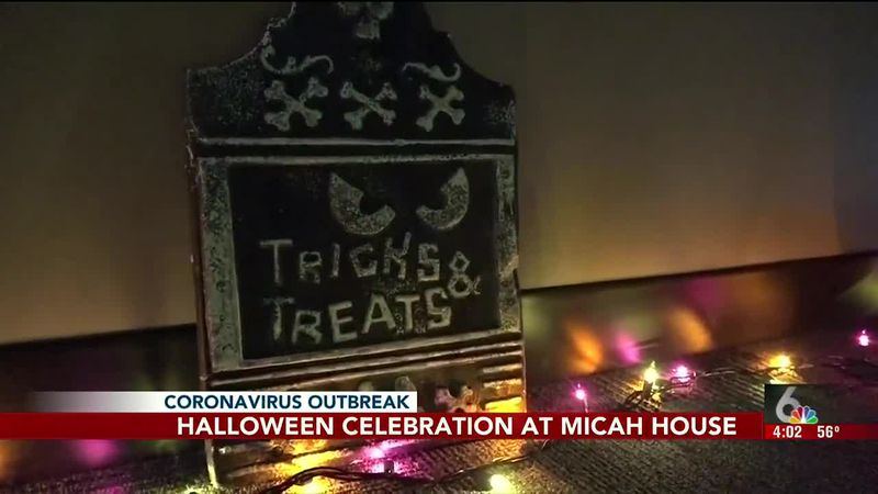 Kids staying at the MICAH House got to trick-or-treat a little early this year when the...