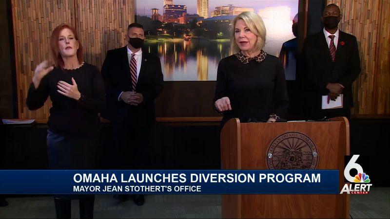 Omaha officials unveiled a pilot program Tuesday Jan. 19, 2021, designed to give second chances...