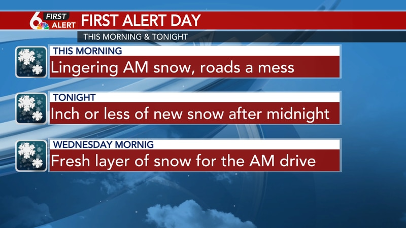 First Alert Day continues