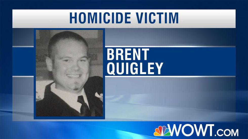 Brent Quigley, 38, was murdered in June 2018.