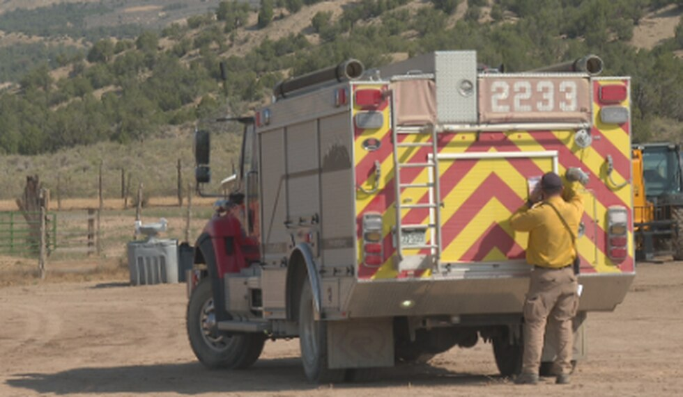 Firefighters are working on the Pine Gulch Fire in some pretty remote areas.