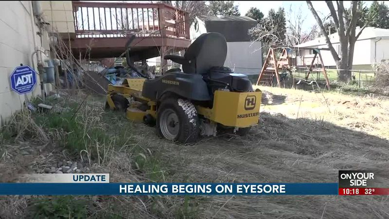 Sarpy County eyesore getting cleaned up