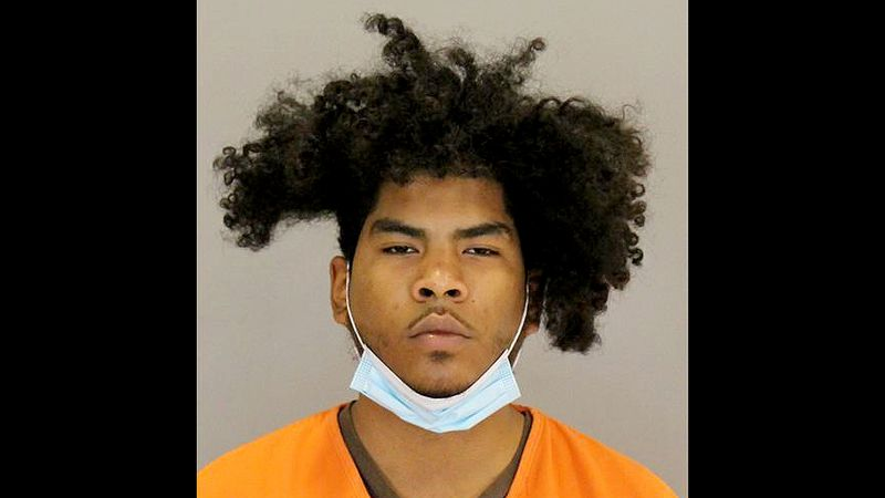 Hairo Ogando, 19, was arrested in a west Omaha shopping area following an Omaha Police search...