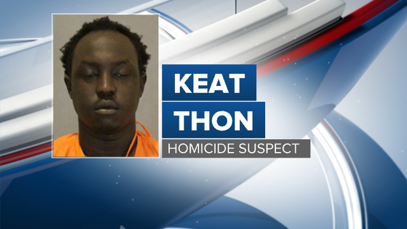Omaha Police arrested Keat Thon in connection to a homicide at 31st & Seward Streets.