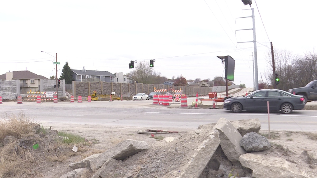 Construction along Blondo Street, expanding a stretch of the road from two lanes to four, will...
