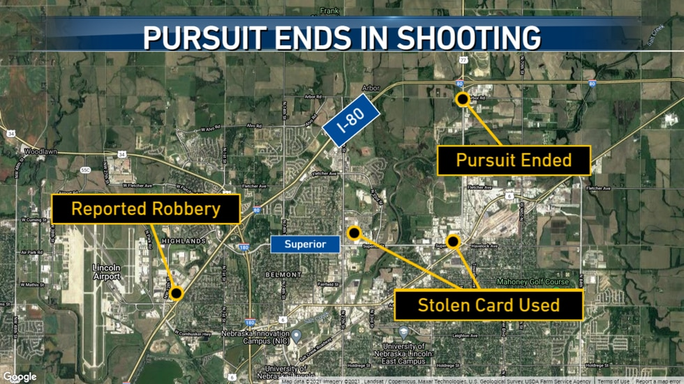 A large police presence was seen near 56th Street and Arbor Road after unconfirmed reports of a...