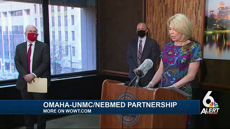 Omaha mayor announces MOU for Project NExT