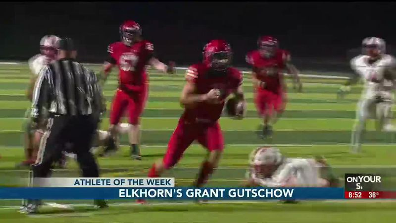 Grant Gutschow did his part and more at quarterback. Grant scored three touchdowns on the...