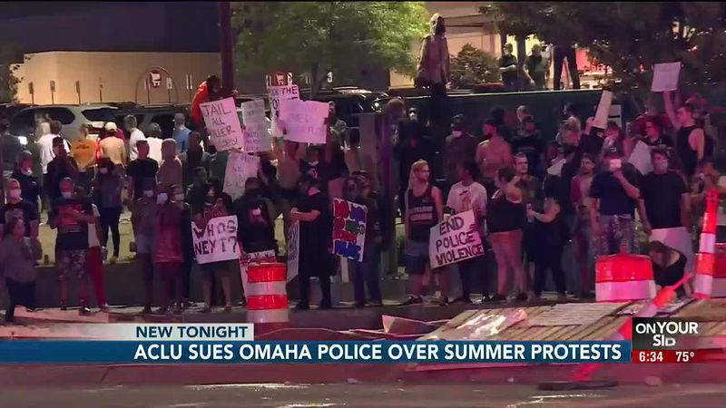 A federal judge Tuesday night is considering whether to temporarily ban Omaha police from using...