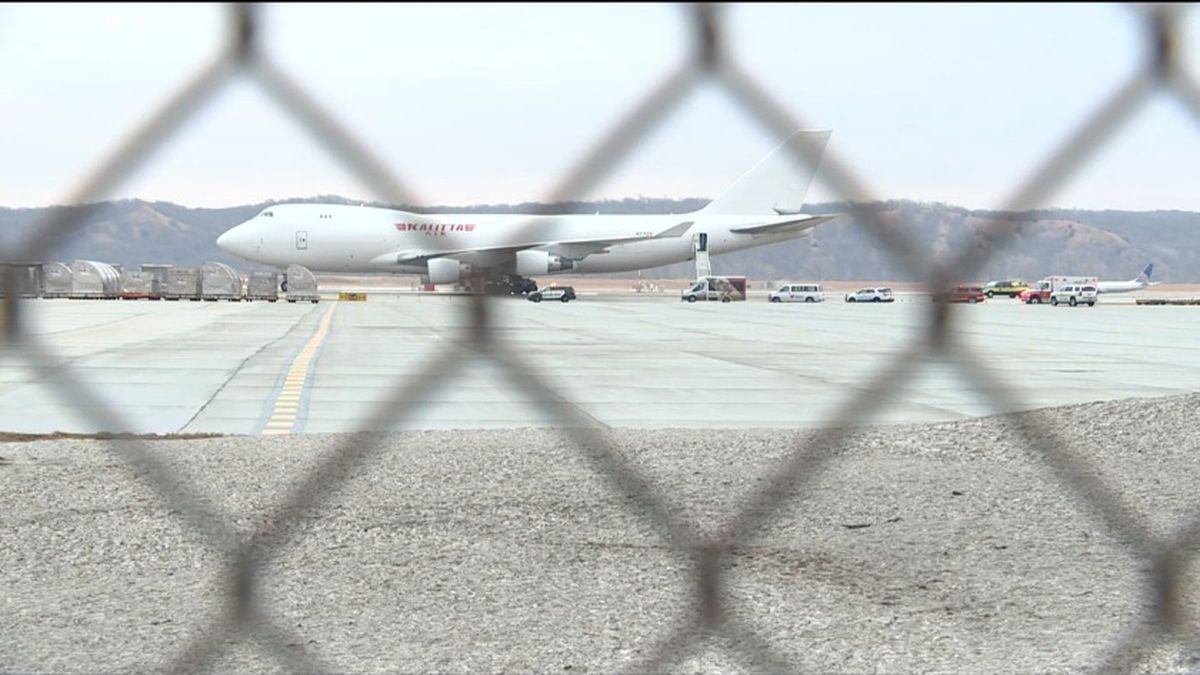 Authorities confirmed with 6 News that a handful of people arriving at Eppley Airfield on...