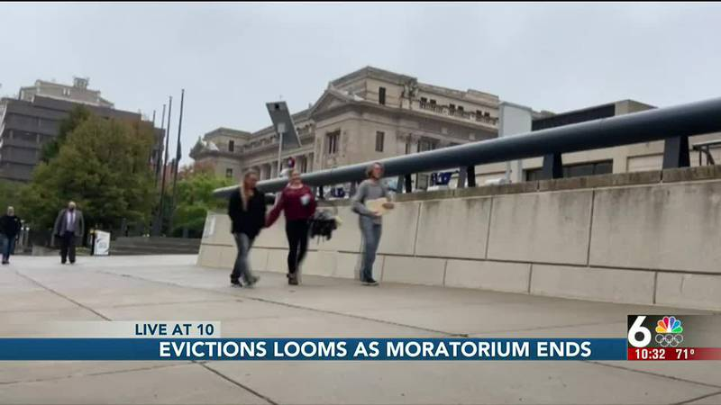 Millions of renters across the country face eviction for the first time since the start of the...