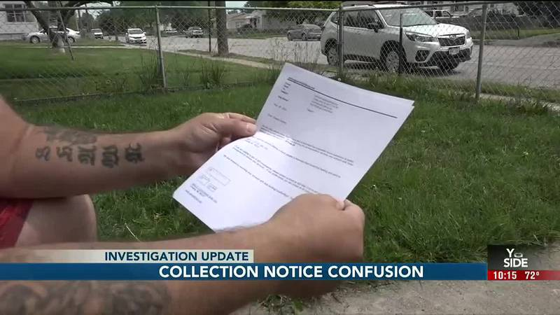 A collections notice that he still owes Xcel Roofing $7,000 sent Shawn Cooper through the roof.