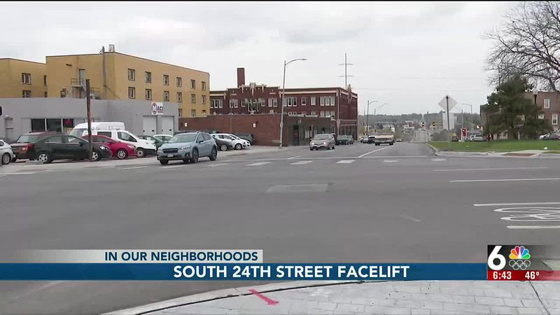South 24th Street facelift - 6:30 pm