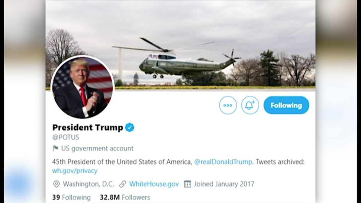 Twitter has announced plans to hand over control of its official presidential account to the...