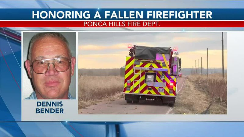 Friends and family remember Dennis Bender, a Ponca Hills volunteer firefighter who died...