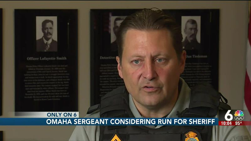 Omaha Police sergeant considers run for sheriff